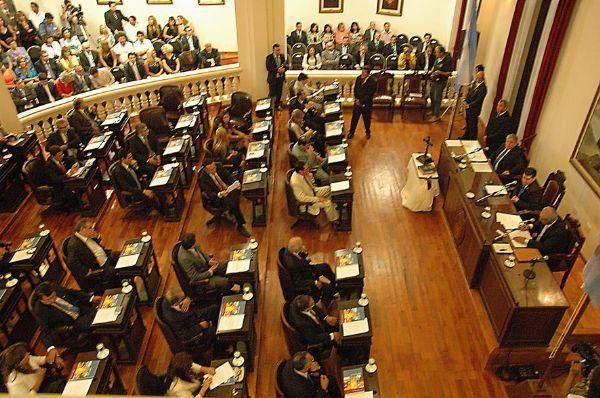 sesion diputados