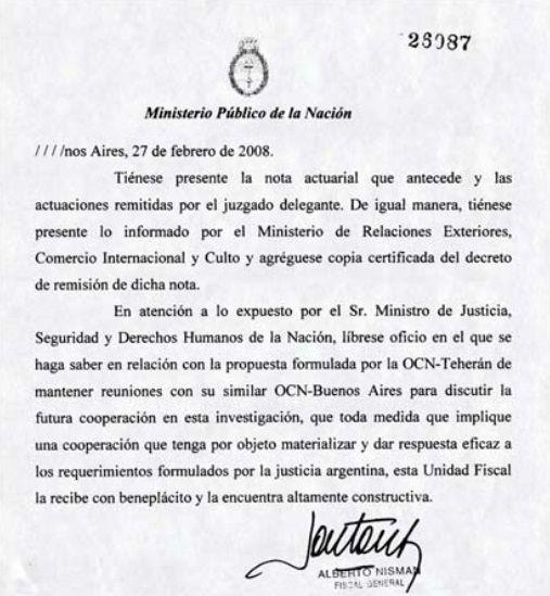 ministerio justicia argentina