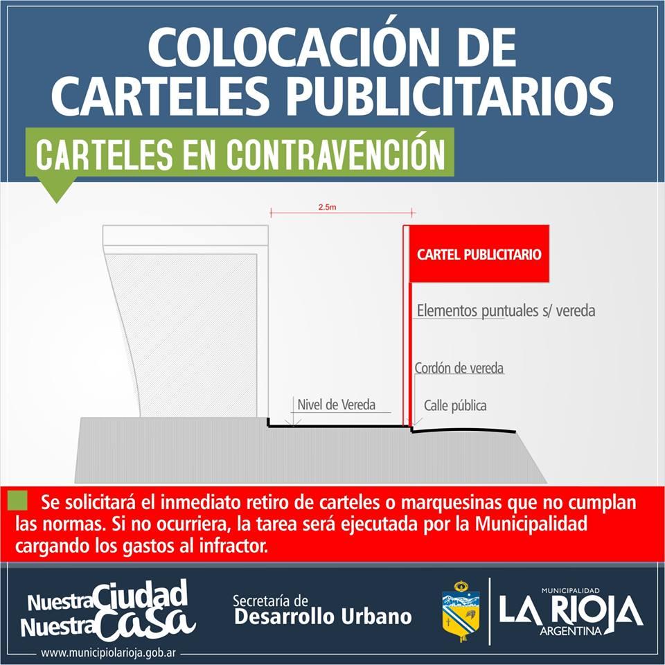 Comunican normas para la colocaci n de toldos vallas y for Colocacion de toldos