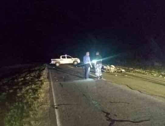 Chamical: Fallecieron tres personas en un accidente