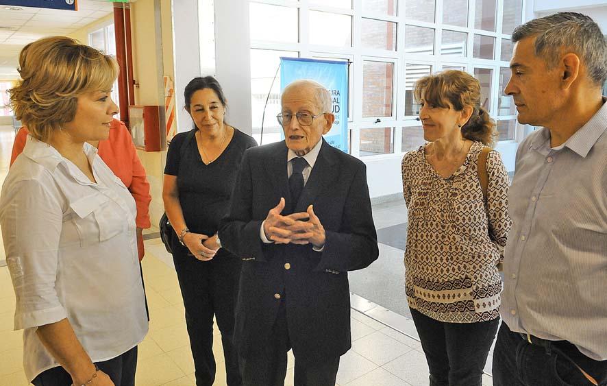 El reconocido pediatra Carlos Rezzónico visitó La Rioja