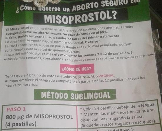 Resultado de imagen para misoprostol