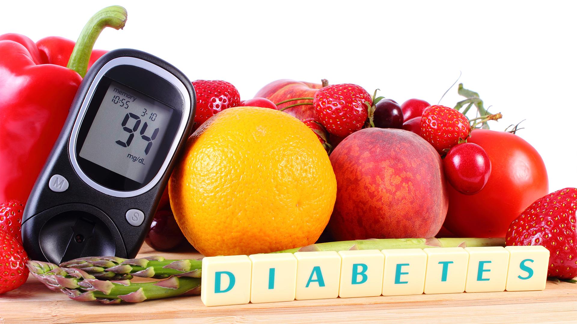 La alimentación saludable previene el 70 % de la diabetes