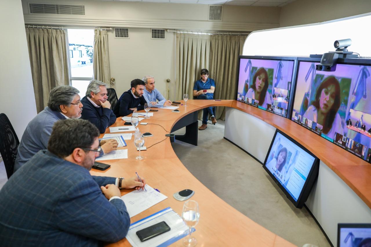 Brizuela y Doria expuso al presidente la preocupación por la situación  económica