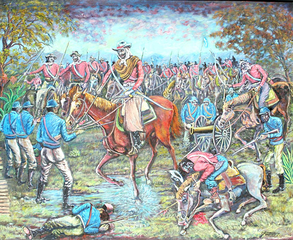 Se conmemora un año más de la Batalla de Pozo de Vargas