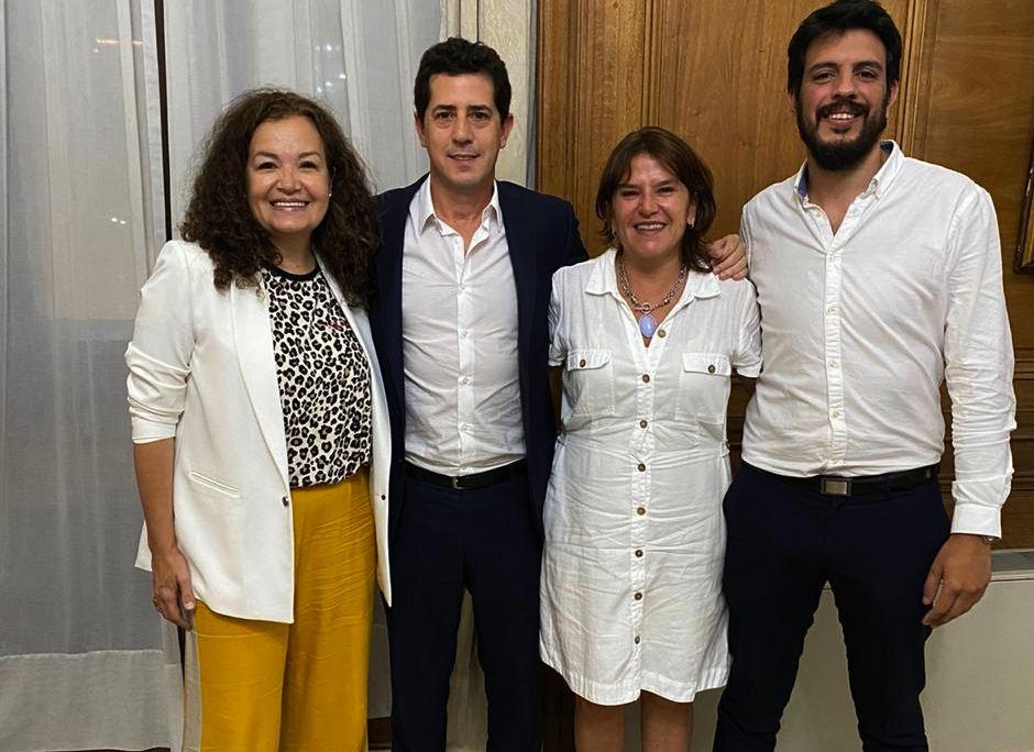 Brizuela y Doria se reunió con el ministro del Interior de la Nación