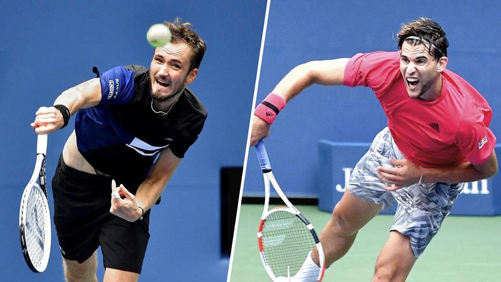Daniil Medvedev y Dominic Thiem chocan por el último título del año